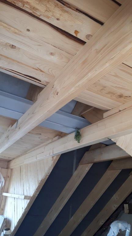 Nutzungsänderung Dachgeschossausbau